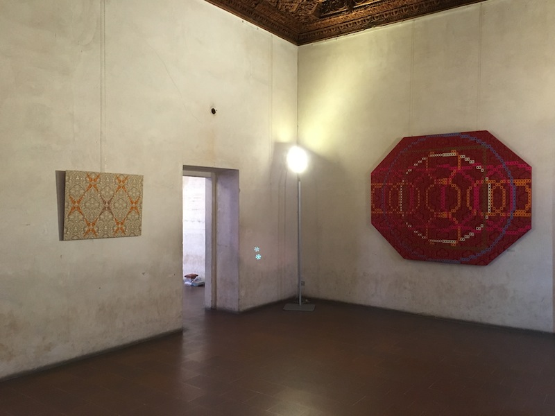 Vincenzo Marsiglia. Dopo-Logica/o, veduta della mostra, Palazzo Ducale, Sabbioneta (MN)