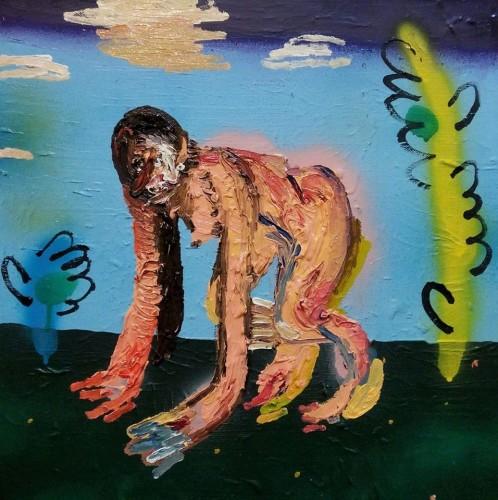 """Dario Molinaro """"l'essenziale sarebbe volere quello che si può fare""""_cm 40x40_ anno 2016 Courtesy Ateliermultimedia Galerie, Vienna"""
