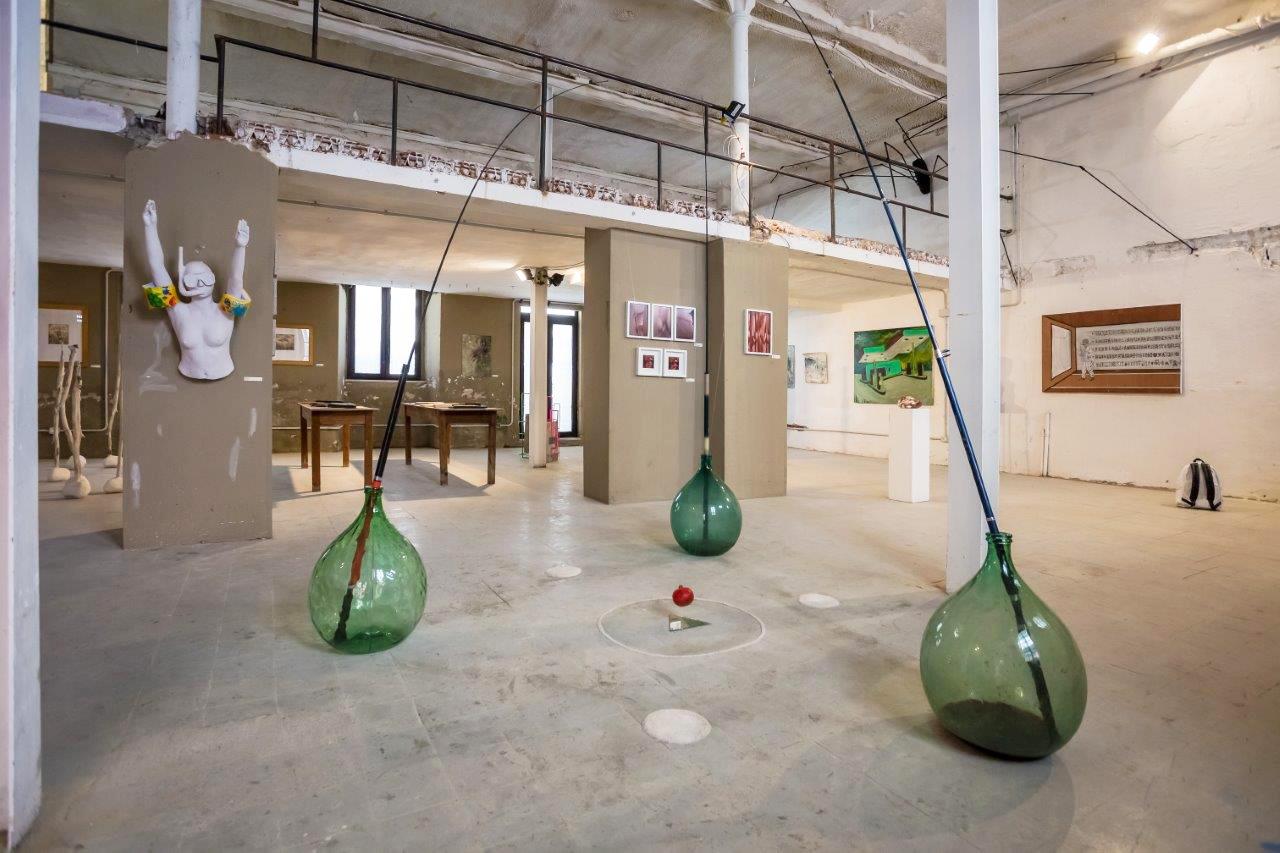 Veduta della mostra Paretra