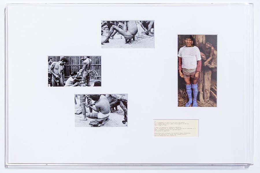 Beto Shwafaty, 26 Framings #10 — #11 (eleven pieces), 2016, printed matter passepartout, plexiglas, 93x67x4 cm Courtesy dell'artista e Prometeogallery di Ida Pisani