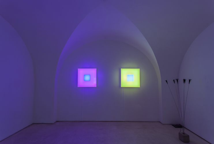 Brian Eno. Light Music. Courtesy Galleria Valentina Bonomo, Roma