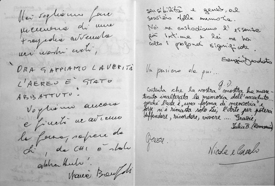 Giovanni Gaggia, QUELLO CHE DOVEVA ACCADERE, 2015, particolare del taccuino dal progetto Inventarium, Palermo e Bologna