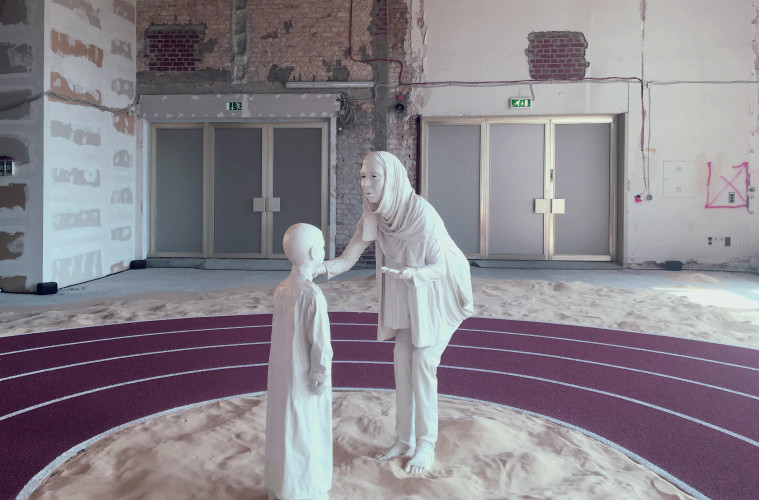 "GCC, ""Positive Pathways (+)"", installatione view, 2016. Courtesy GCC"