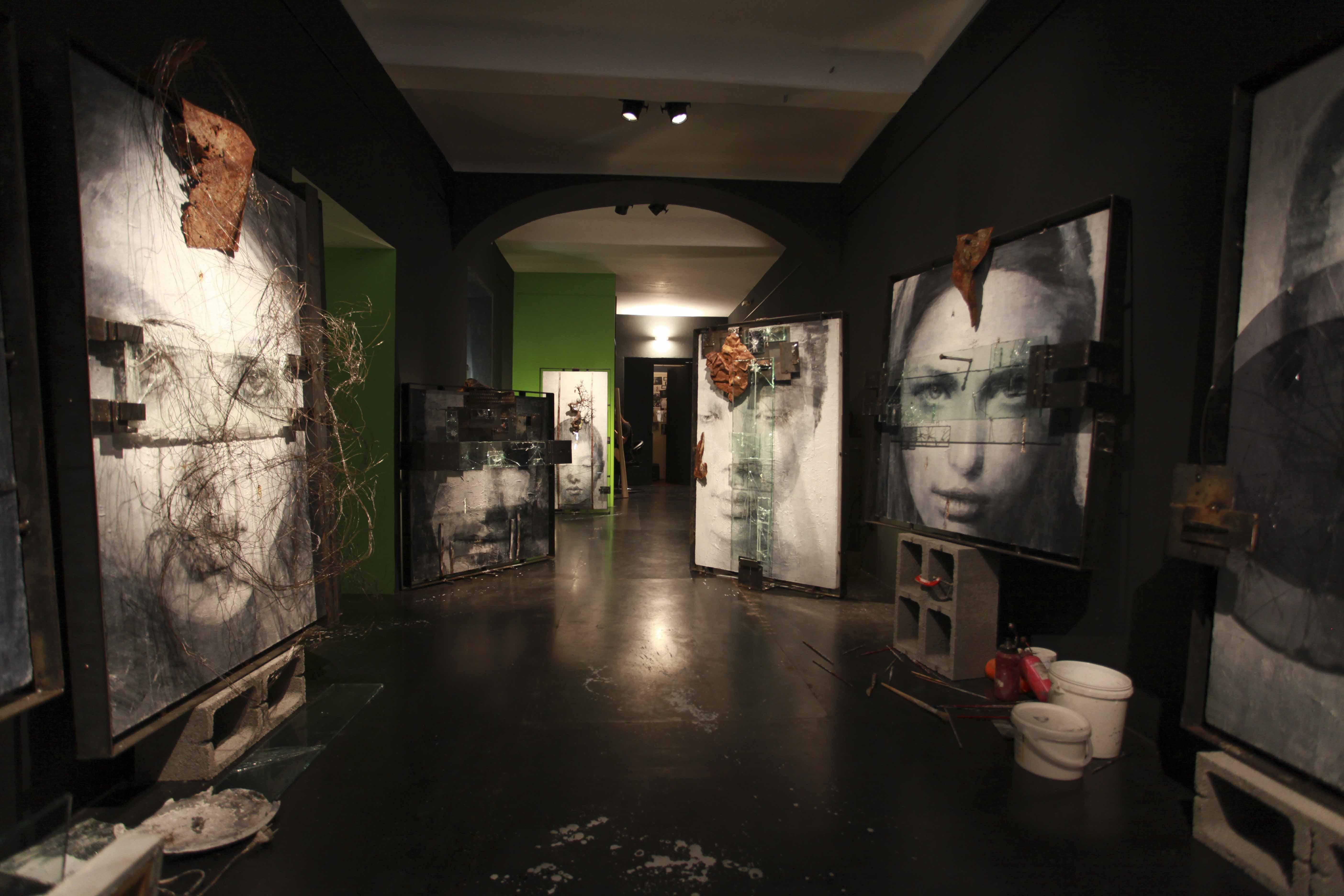 Una veduta della mostra VITALIANO. WA