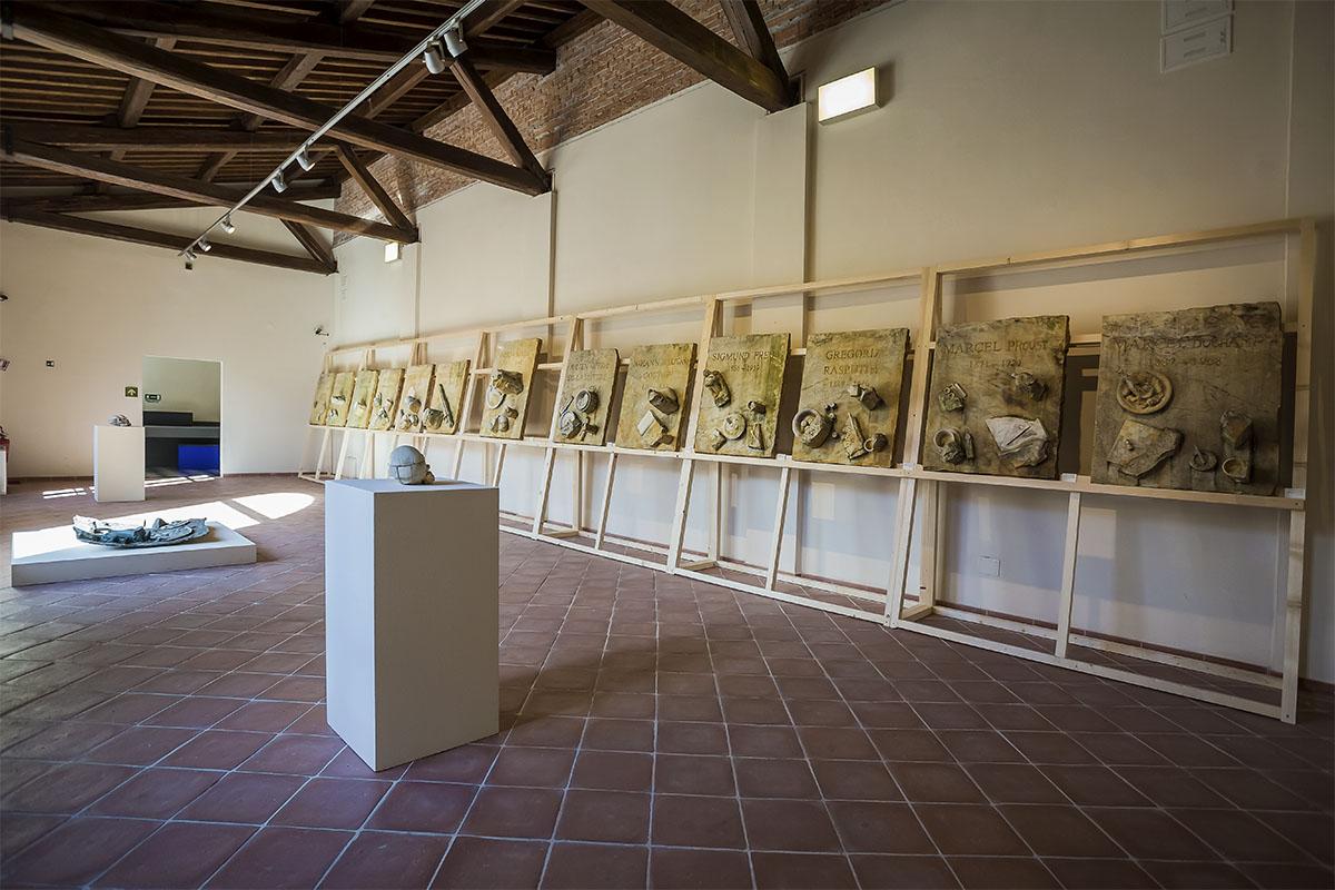 Daniel Spoerri. Una dura scelta, CAP- Centro Arti Plastiche, Carrara. Courtesy Carrara Marble Weeks 2016