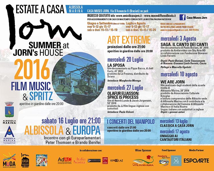 Programma Art Extreme | Casa Jorn