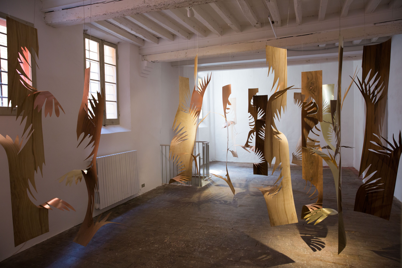Laura Renna, Que reste-t-il. Veduta della mostra. Foto di Luciano Paselli