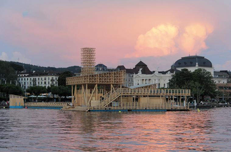 Pavillon of Reflections, esterno. Foto: © Manifesta 11 / Wolfgang Traeger