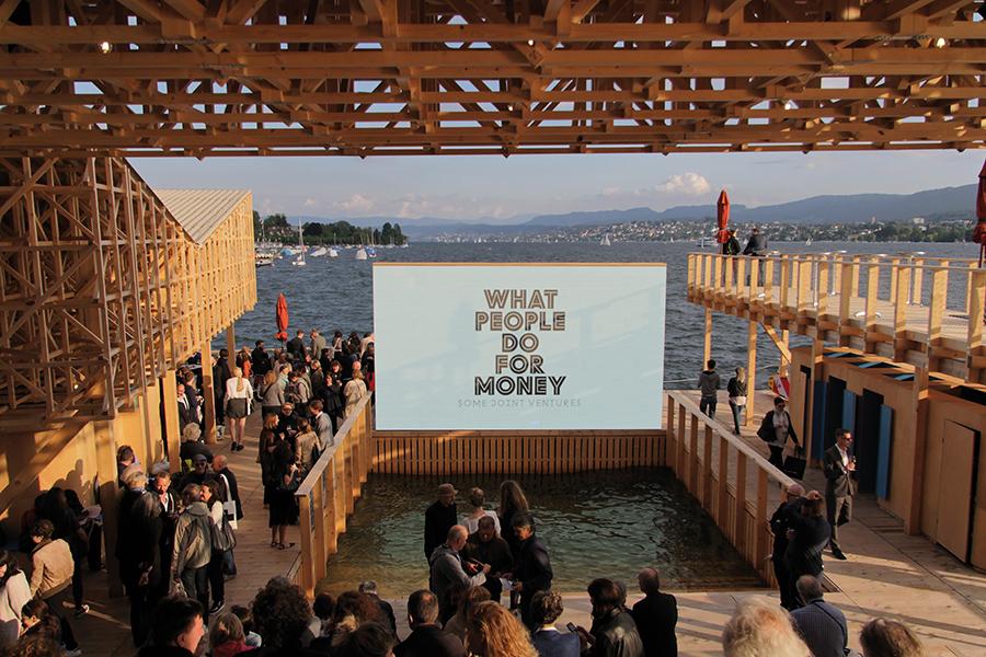 Pavillon of Reflections, filmscreening. Foto: © Manifesta 11 / Wolfgang Traeger