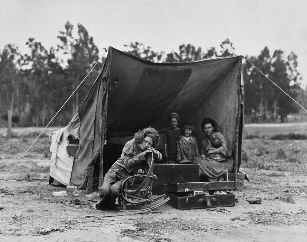 Migrant Agricultural Worker's Family, Nipomo, California, 1936
