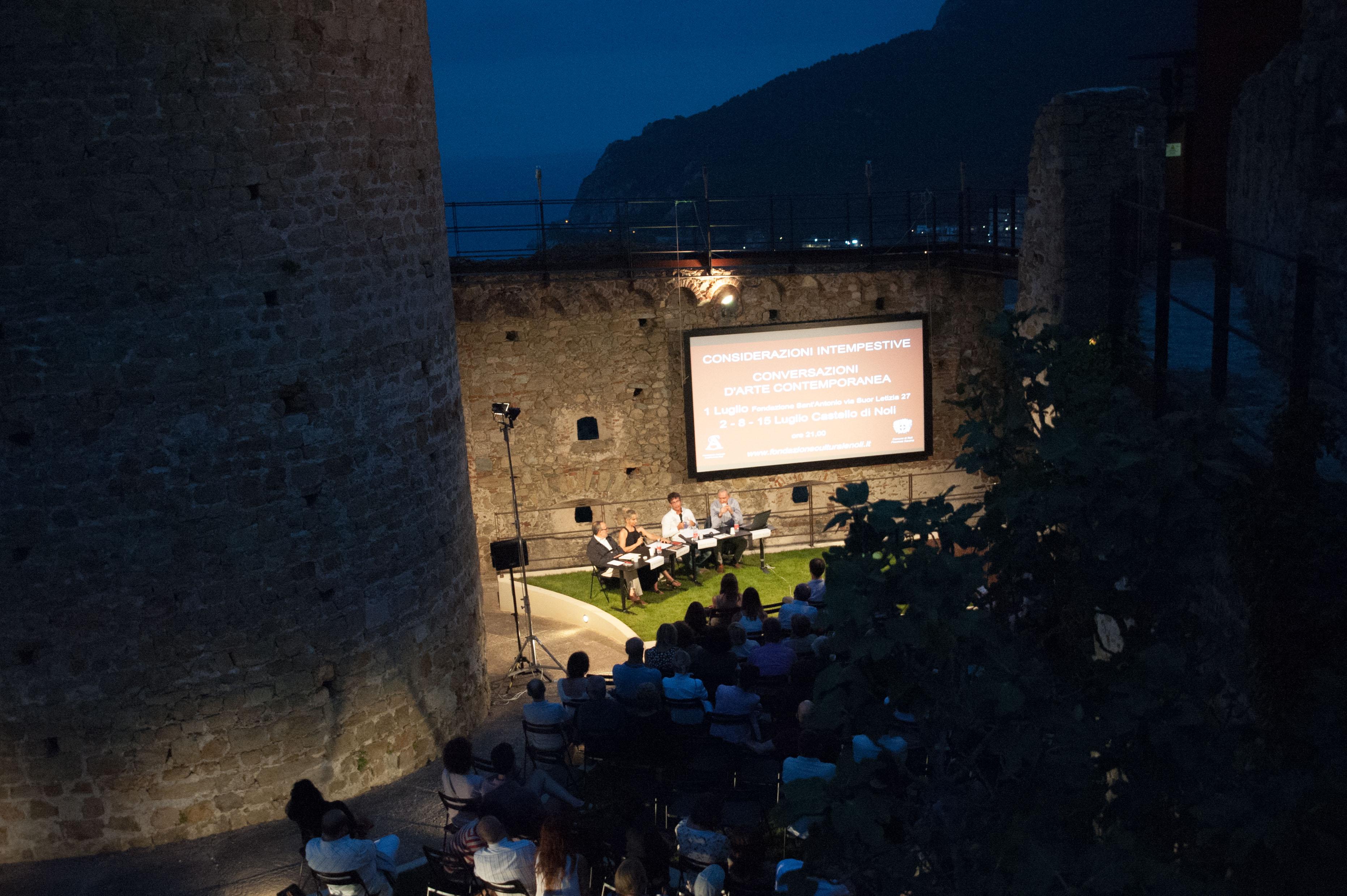 Considerazioni Intempestive 2016, Castello di Noli (SV)