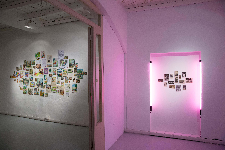 PetriPaselli, Il compianto. Veduta della mostra. Foto di Luciano Paselli
