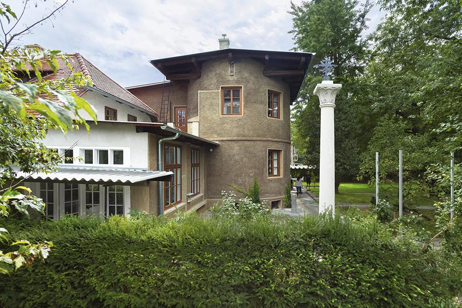 Plečnik House, esterno. Foto: Andrej Peunik/MGML