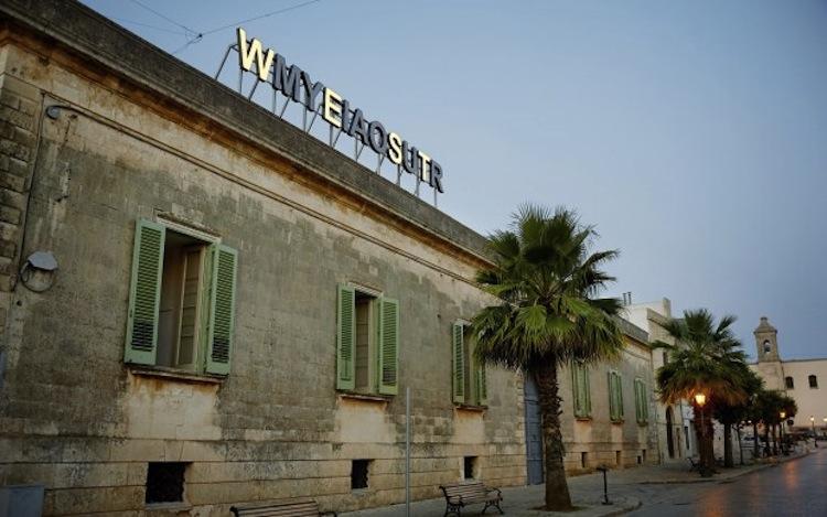 Shilpa Gupta, My East is Your West, installation view per Capo d'Arte 2016 a Palazzo Daniele, Corso Umberto I, Gagliano del Capo (LE) Foto Uli