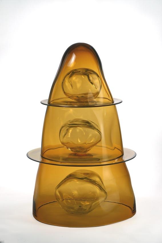 Tristano di Robilant, Assisi, vetro soffiato, circa 40x90 cm
