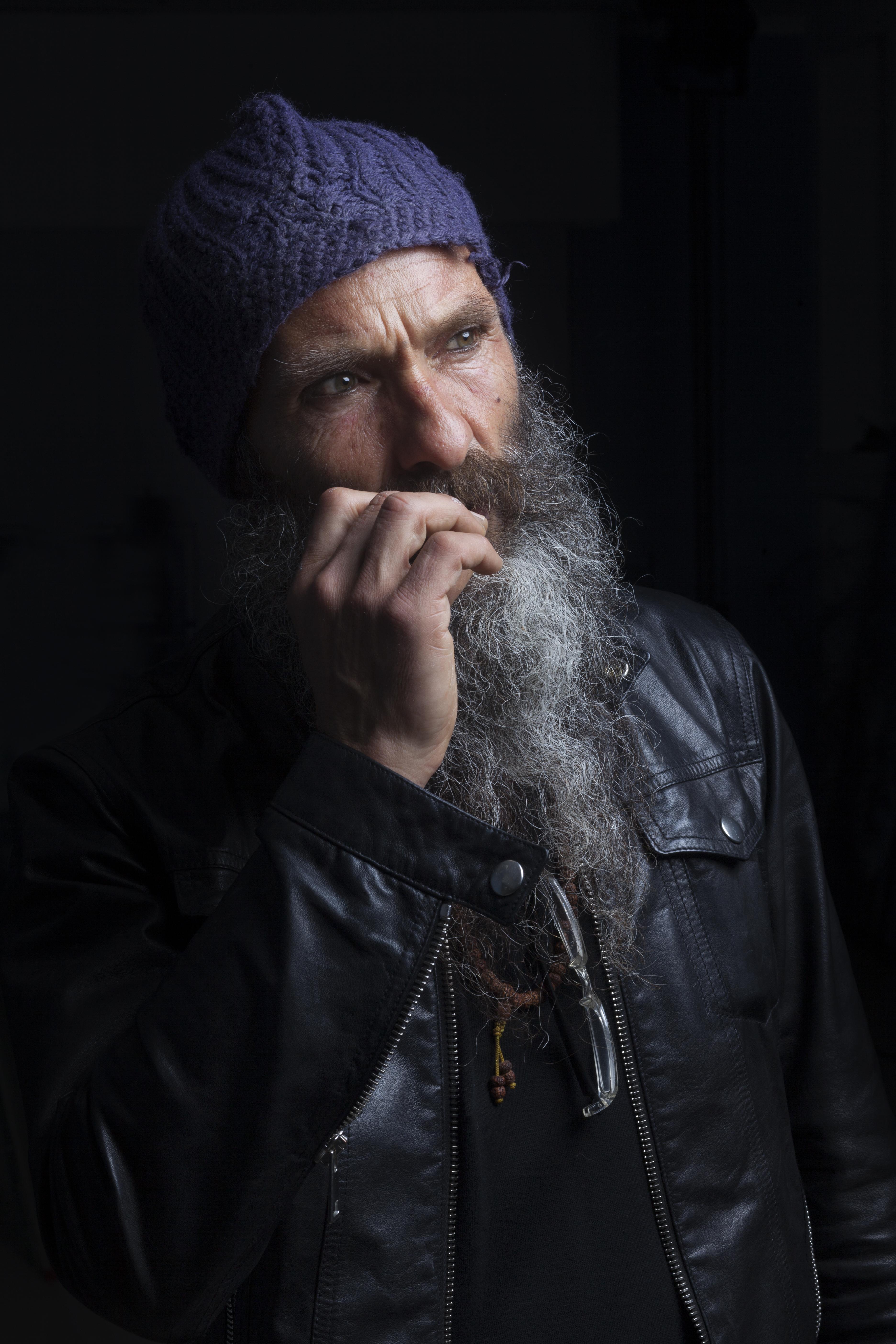 Un ritratto di Vitaliano. Foto: Nicola Gnesi