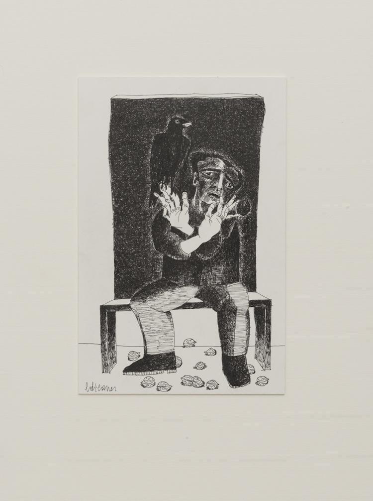 Edi Carrer, Autoritratto
