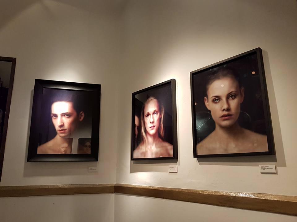 Federico Lombardo, Ai confini della pittura, una veduta mostra