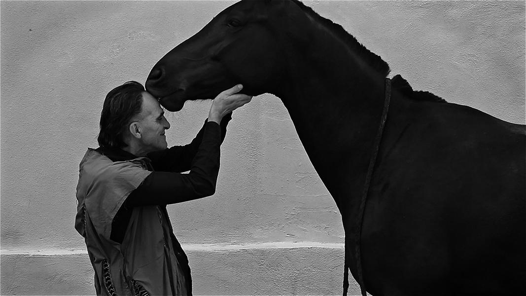 Giovanni Lindo Ferretti, frames dal film Saga. Il Canto dei Canti, 2015