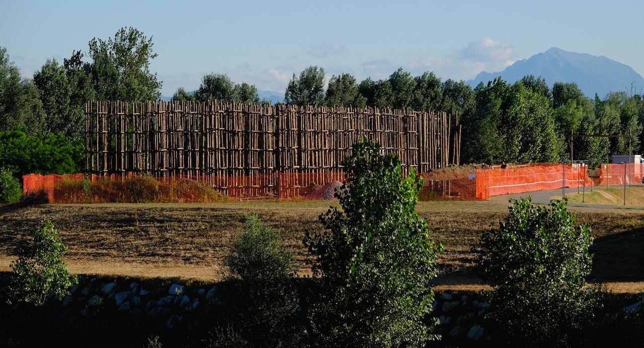 Cattedrale vegetale di Lodi, work in progress © 2016 Associazione Giuliano Mauri | Foto di Alberto Prina