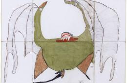 """Matilde+Laura+Pietro+Luca, Atelier dell'Errore, """"Il Farchio del Sud"""", 2011 - 2014, tecnica mista su carta, 140 x 200 cm, Courtesy and © Atelier dell'Errore"""
