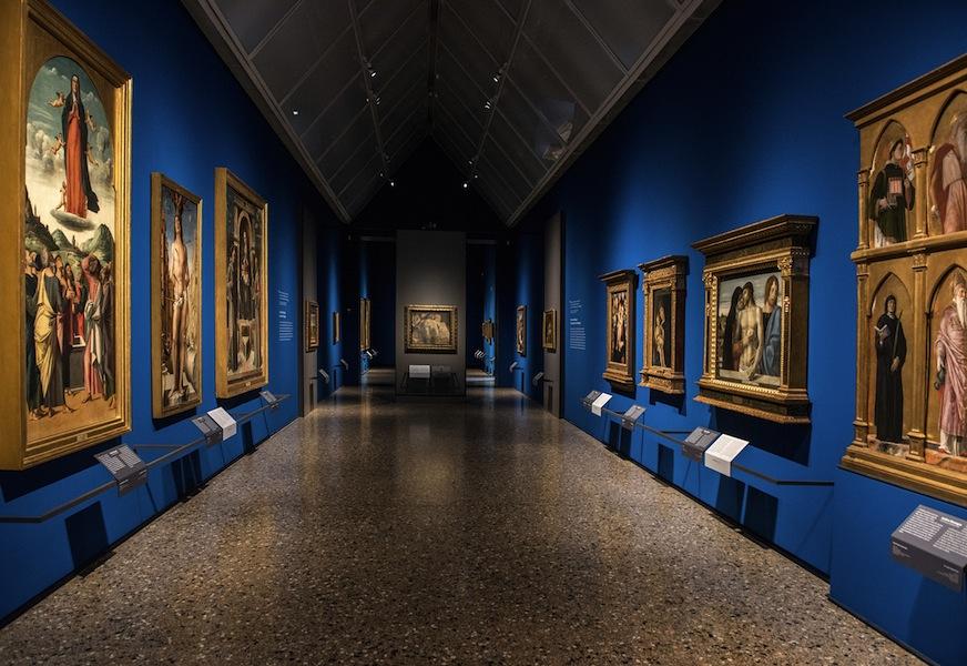 Il nuovo allestimento della Pinacoteca di Brera: Pittura Veneta XV secolo, Sala 6 © James O'Mara