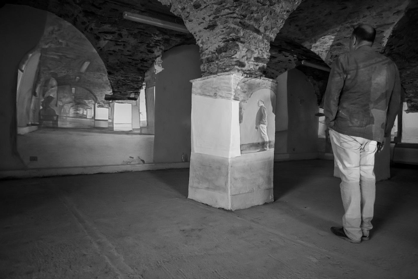 Andrea Aquilanti, veduta della mostra. Foto: Alessandro Paolini Studio 47, Carrara