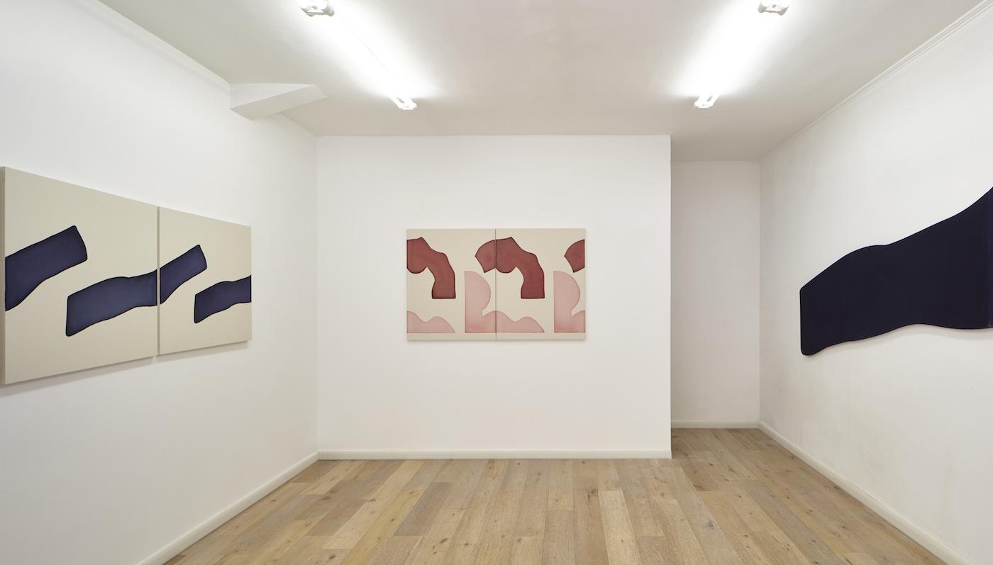 Landon Metz. Veduta della mostra. Courtesy Eduardo Secci Contemporary,