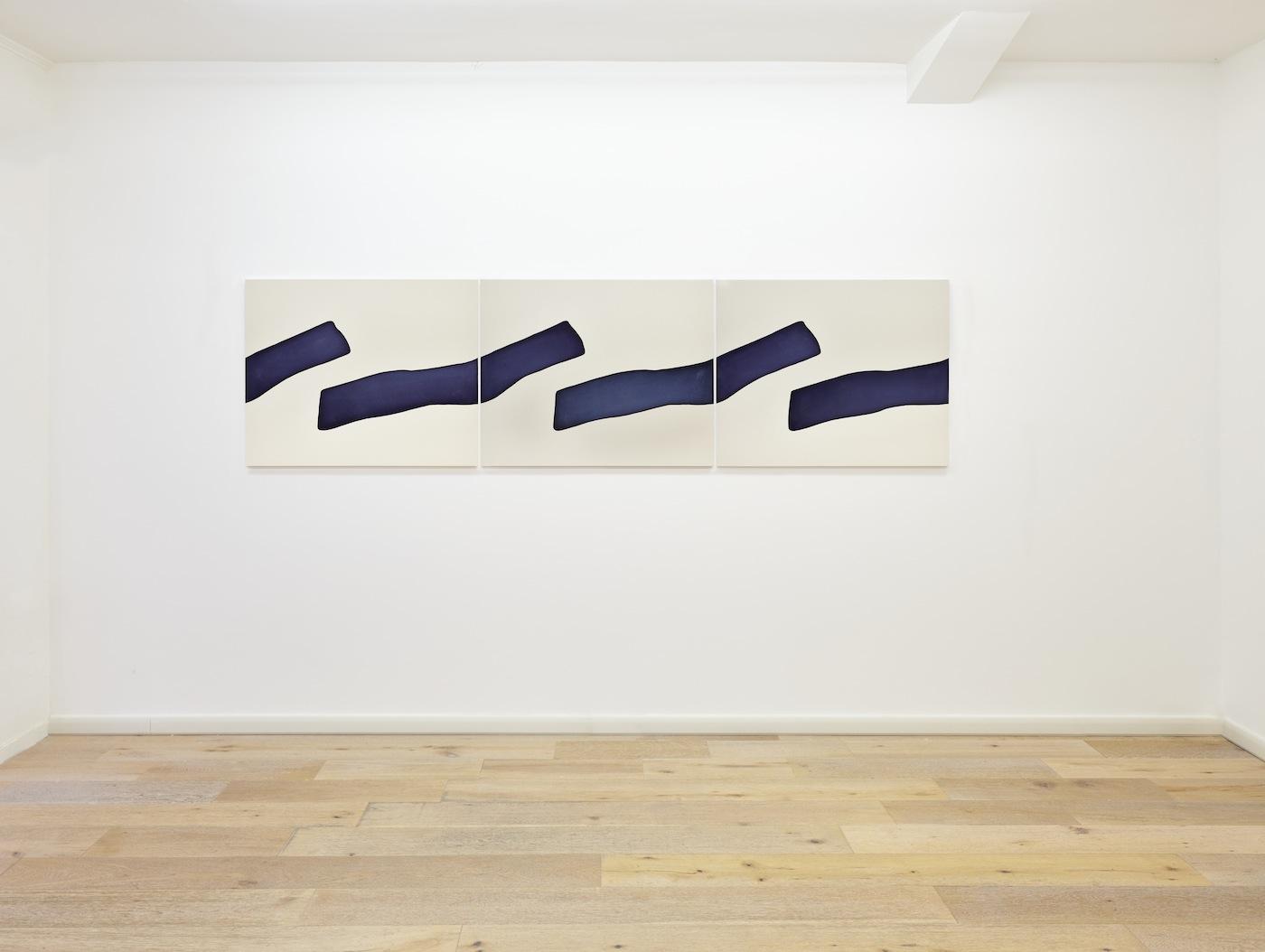 Landon Metz. Veduta della mostra. Courtesy Eduardo Secci Contemporary