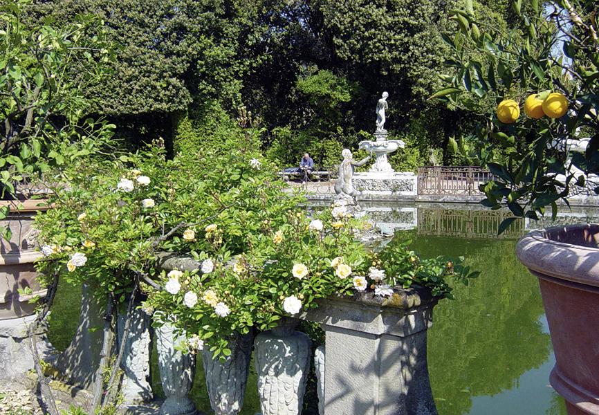 Giardino di Boboli, Archivio Grandi Giardini Italiani