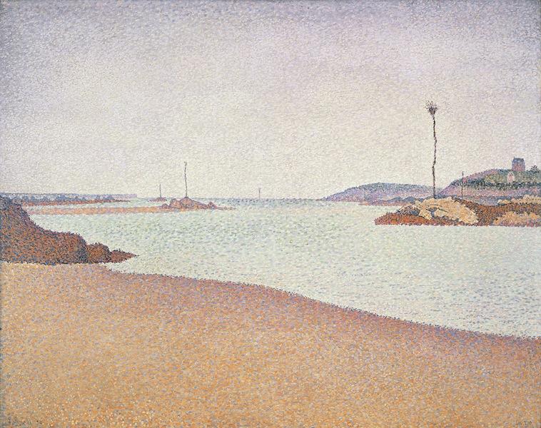 Paul Signac, Saint-Briac. Les balises. Opus 210, 1890, olio su tela, 65x81 cm, Collezione privata, Fotografia: Maurice Aeschimann
