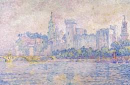 Paul Signac, Avignon. Matin, 1909, olio su tela, 73x92 cm, Collezione privata Fotografia: Maurice Aeschimann