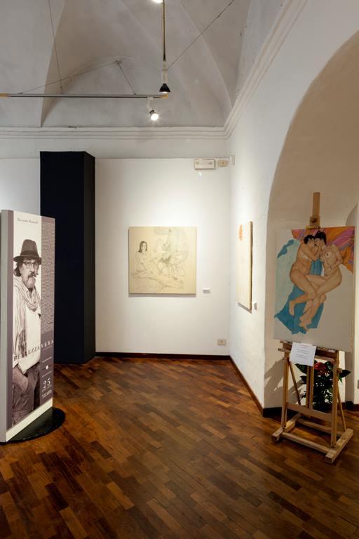 Riccardo Mannelli, veduta della mostra. Courtesy Galleria Gagliardi San Gimignano
