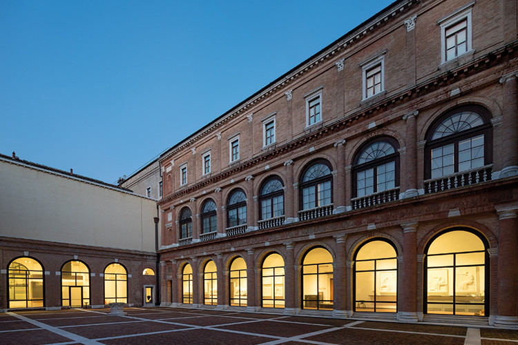 Andrea Palladio, facciata del Convento. Su concessione del Ministero dei beni e delle atlività culturali e del turismo