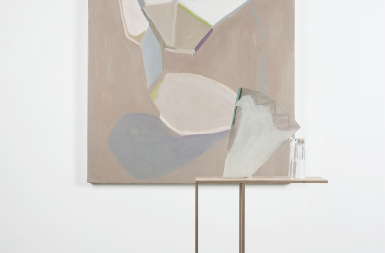 Beatrice Meoni, Senza peso, 2016, olio su tela cm 180x120. Foto Jacopo Menzani