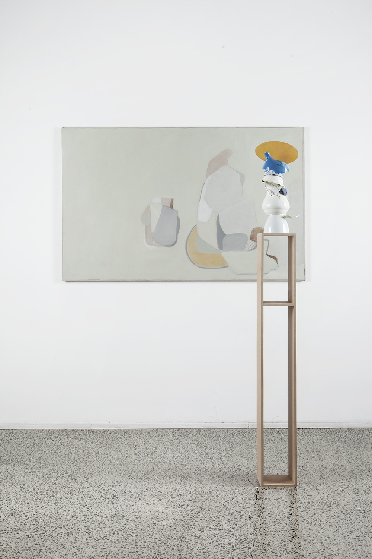 Beatrice Meoni, da quel niente, 2016, olio su tela, cm 86x134. Foto Jacopo Menzani