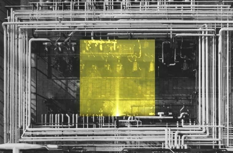 """Mario Cresci, """"Ludus"""" #02, Bergamo 2016 stampa inkjet, cm 150x150"""