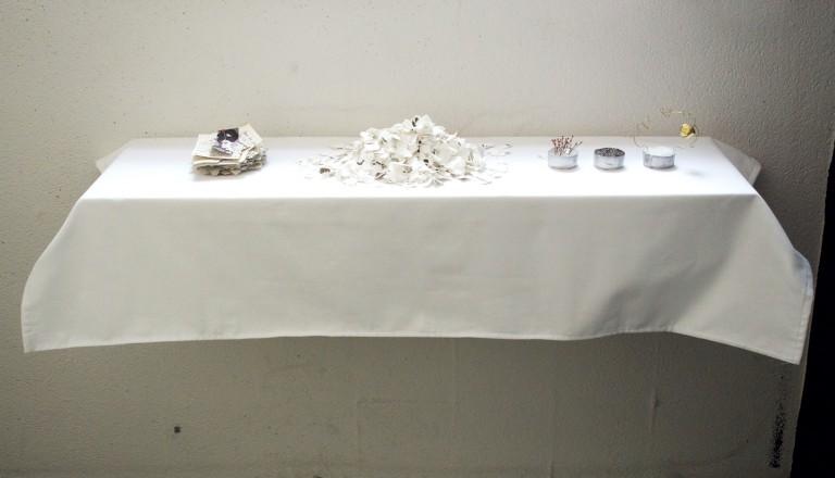 Ex - Voto, Isabella Camodeca, veduta dell'installazione, © Loom Gallery & the artist