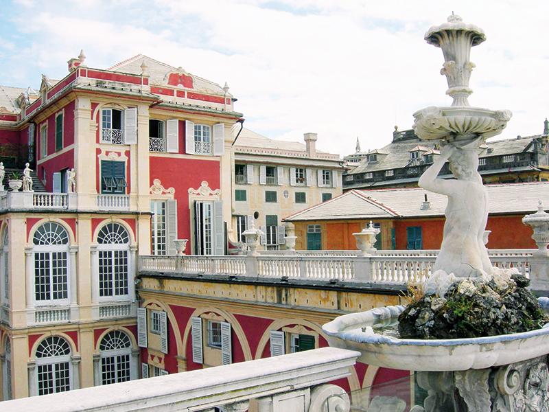 Museo di Palazzo Reale, Genova, facciata est