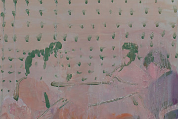 Francesco Cocco, Full and Bluff, 2016, olio su tela, 50 x 50 cm