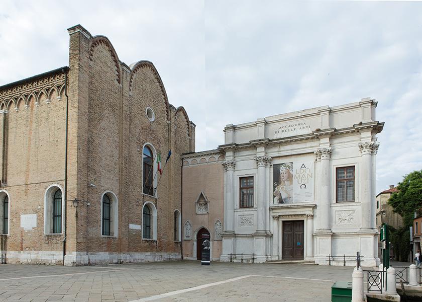 Gallerie dell'Accademia di Venezia, esterno. Foto: Maddalena Santi, 2016. Su concessione del Ministero dei beni e delle atlività culturali e del turismo