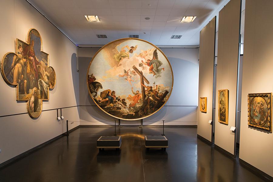 Gallerie dell'Accademia di Venezia, nuove sale. Foto: Matteo De Fina. Su concessione del Ministero dei beni e delle atlività culturali e del turismo