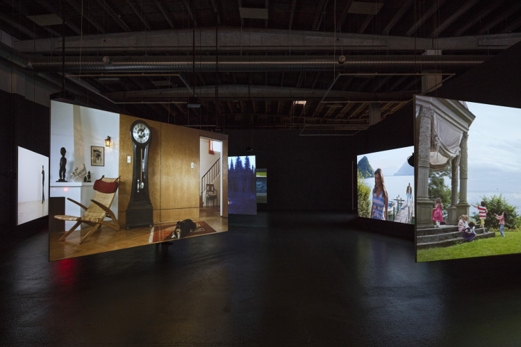 Ragnar Kjartansson: Scenes From Western Culture, 2015. Installation shot, Copenhagen Contemporary 2016. Photo: Anders Sune Berg