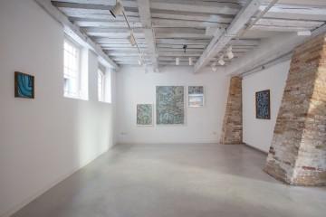 Veduta della mostra Maurizio Donzelli Invisibile-No, Marignana Arte, Venezia
