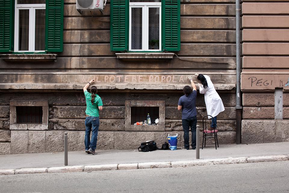 Nemanja Cvijanović_W IL POTERE POPOLARE_2013 Courtesy of the Artist and SIZ Gallery