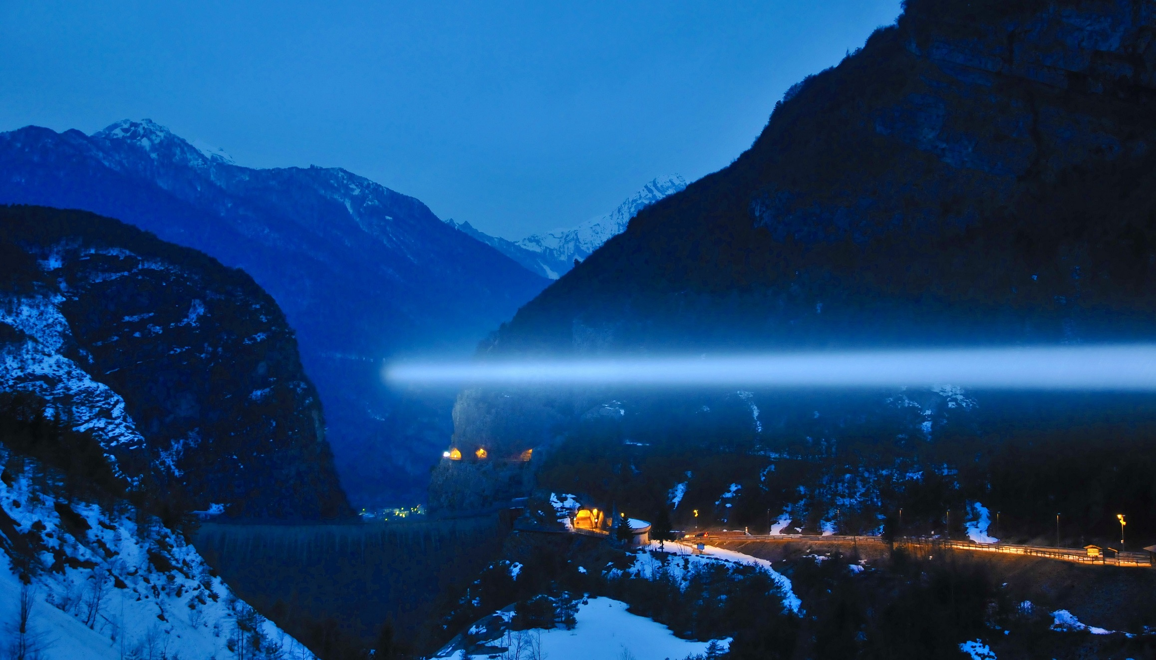 Stefano Cagol, The End of the Border (of the mind). Vajont, 2013