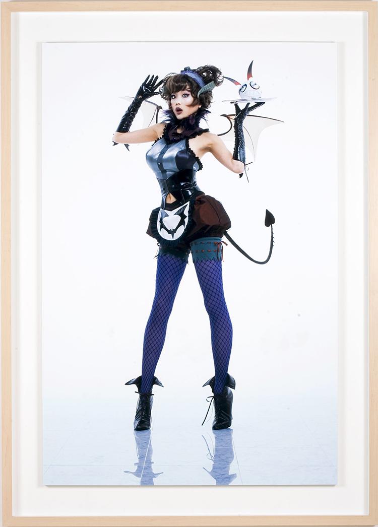 Takashi Murakami, Miss Ko2-Devil. Courtesy: Fondazione Pier Luigi e Natalina Remotti