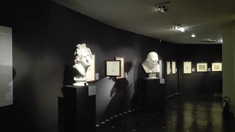 Canova. L'invenzione della gloria. Disegni, dipinti e sculture, veduta della mostra, Museo di Palazzo Reale, Genova