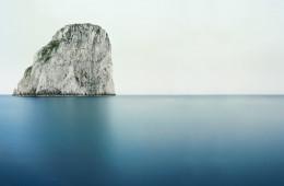 Francesco Jodice, Capri. The Diefenbach Chronicles, 2013, inkjet on cotton paper, dibond aluminium, plexiglass, woodframe, cm 150 x 225, courtesy Galleria Michela Rizzo, Venezia