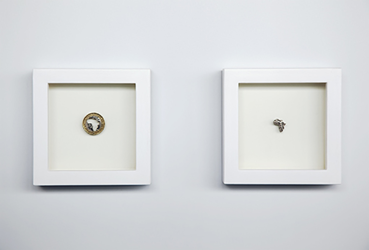 GOLD EURO, 2009, 2,3cm/1,5x1,3cm - 2/12x12cm Frame